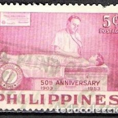 Stamps - FILIPINAS 1953 - USADO - 100412039