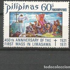 Sellos: FILIPINAS CORREO AEREO YVERT NUM. 80 ** SERIE COMPLETA SIN FIJASELLOS. Lote 103063331