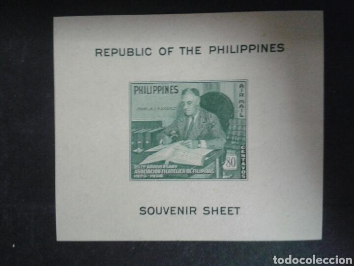 FILIPINAS. YVERT HB-2. SERIE COMPLETA NUEVA CON CHARNELA. SEGUNDA GUERRA MUNDIAL. F.D.. ROOSEVELT. (Sellos - Extranjero - Asia - Filipinas)