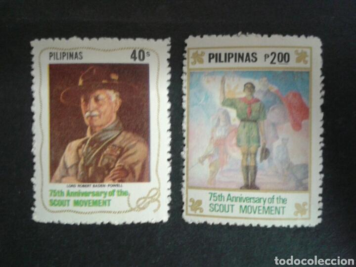 FILIPINAS. YVERT 1272/4. SERIE COMPLETA NUEVA SIN CHARNELA. SCOUTS. (Sellos - Extranjero - Asia - Filipinas)