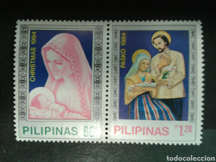 FILIPINAS. YVERT 1420/1. SERIE COMPLETA NUEVA SIN CHARNELA. NAVIDAD. (Sellos - Extranjero - Asia - Filipinas)