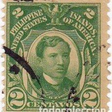Selos: 1906-14 - FILIPINAS - ADMINISTRACION AMERICANA - RIZAL - IVERT 204. Lote 105806579