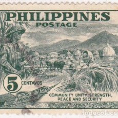 Stamps - 1951 - FILIPINAS - IVERT 383 - 105823255