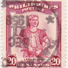 Selos: 1955 - FILIPINAS - LAPU LAPU - IVERT 437. Lote 105824359