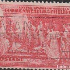 Sellos: LOTE Y SELLOS SELLO FILIPINAS AÑO 1935 GRAN TAMAÑO. Lote 121347634