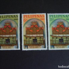 Sellos: FILIPINAS Nº YVERT 590/2***AÑO 1964. ORGANOS DE BAMBU DE LA IGLESIA DE LAS PINAS, EN RIZAL. Lote 108760039