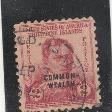 Sellos: FILIPINAS (USA) 1939 - MICHEL NRO.410 -USADO. Lote 113357051