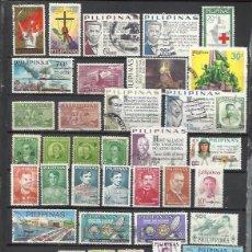 Sellos: G491-LOTE SELLOS FILIPINAS ASIA SIN TASAR,SIN REPETIDOS,ALGUNOS DE SERVICIO OFICIAL.Q746-LOT PHILIPP. Lote 135498538