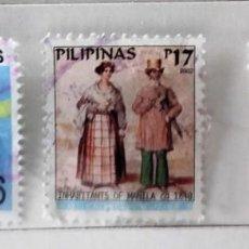 Sellos: FILIPINAS, LOTE DE 3 SELLOS DIFERENTES, USADOS . Lote 139685798