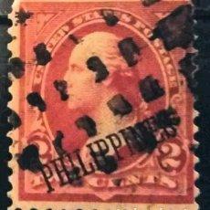 Sellos: FILIPINAS. SELLOS USA SOBRECARGADOS, 1899. 2 CENTS. ROJO (Nº 177 YVERT).. Lote 144564778