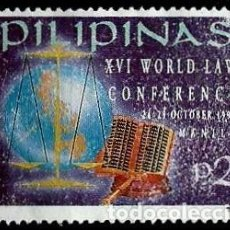 Stamps - Filipinas Scott 2259 (Conferencia Mundial de Derecho) usado - 144908238