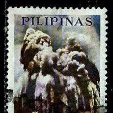 Sellos: FILIPINAS SCOTT C-95 (AEREO) (ERUPCION DEL VOLCAN TAAL) USADO. Lote 144911406