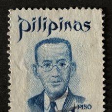 Sellos: SELLO CLÁSICO EN USADO DE FILIPINAS 1 PISO- JULIÁN FELIPE. Lote 147435593