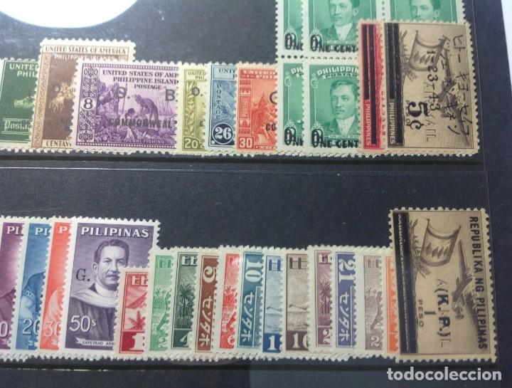 Sellos: Lote de antiguos sellos de FILIPINAS Los que se ven en la fotografía, en total unos 90 sellos aproxi - Foto 11 - 147680214