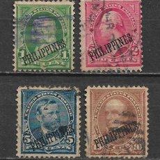 Sellos: FILIPINAS 1899-1900 - 1/59. Lote 148527018
