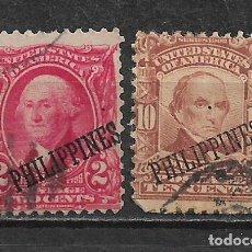 Sellos: FILIPINAS 1903-04 - 1/59. Lote 148527130