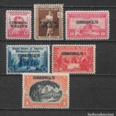 Sellos: FILIPINAS 1936-37 * MH - 1/59. Lote 148528150