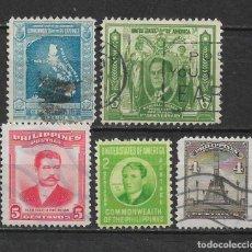 Sellos: FILIPINAS 1936-1940 - 1/59. Lote 148528326