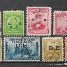 Sellos: FILIPINAS 1931-1940 - 1/59. Lote 148528402