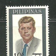 Sellos: FILIPINAS 1972 IVERT 875 *** 55º ANIVERSARIO DEL NACIMIENTO DE J. F. KENNEDY - PERSONAJES. Lote 151090570
