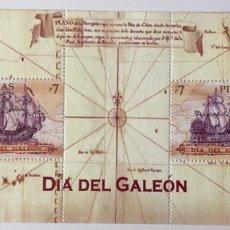 Sellos: HB NUEVA DE FILIPINAS 2010- DÍA DEL GALEÓN **. Lote 151278536