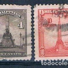 Sellos: FILIPINAS 1947 YVES 325/326 USADO. Lote 152226838
