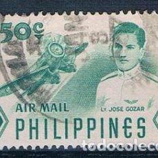 Sellos: FILIPINAS 1955 YVES PA53 USADO. Lote 152226898
