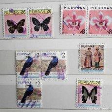 Stamps - FILIPINAS, 9 SELLOS USADOS - 158605118