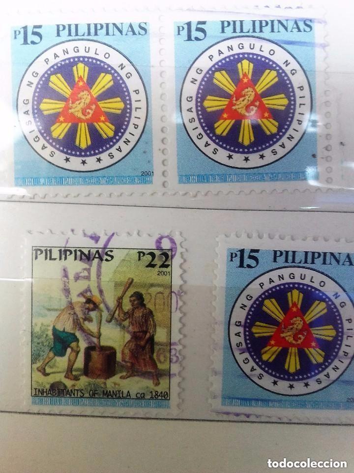 FILIPINAS, 4 SELLOS USADOS (Sellos - Extranjero - Asia - Filipinas)