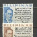 Sellos: FILIPINAS YVERT NUM. 565/566 * SERIE COMPLETA CON FIJASELLOS. Lote 159487458