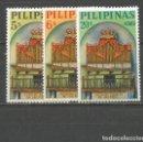Sellos: FILIPINAS YVERT NUM. 590/592 * SERIE COMPLETA CON FIJASELLOS. Lote 159488954