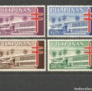 Sellos: FILIPINAS YVERT NUM. 596/599 * SERIE COMPLETA CON FIJASELLOS. Lote 159489178