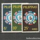 Sellos: FILIPINAS YVERT NUM. 600/602 * SERIE COMPLETA CON FIJASELLOS. Lote 159489278