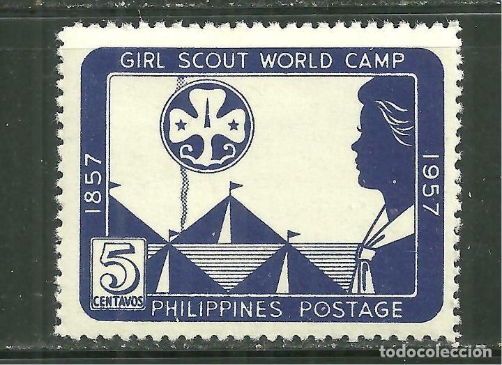 FILIPINAS 1957 IVERT 451 *** CENTENARIO DEL NACIMIENTO DE LORD BADEN POWELL (Sellos - Extranjero - Asia - Filipinas)