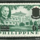 Sellos: FILIPINAS 1962 IVERT 532 *** INSTITUTO MANUEL QUEZON - MONUMENTOS. Lote 160000758
