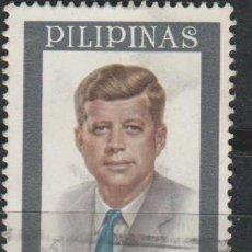 Sellos: LOTE Y SELLOS SELLO FILIPINAS KENNEDY. Lote 174355459