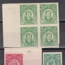 Sellos: FILIPINAS, ADMINISTRACIÓN AMERICANA, 1906-14 YVERT Nº 204, 205, 216, **/*/, SIN DENTAR. . Lote 176870785