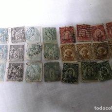 Sellos: 24 SELLOS DE FILIPINAS CUANDO ERA DE ESTADOS UNIDOS Y DE FRANCIA . Lote 178155227