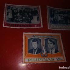 Sellos: FILIPINAS 1968-KENNEDY FAMILY. Lote 184031875