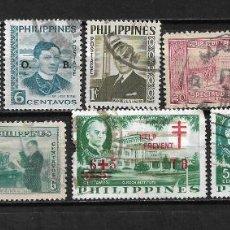 Sellos: FILIPINAS LOTE SELLOS - 20/14. Lote 198642291