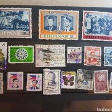 Sellos: LOTE 17 SELLOS DIFERENTES FILIPINAS GRAN OPORTUNIDAD OFERTA LIQUIDACION LOTE 262. Lote 198852362