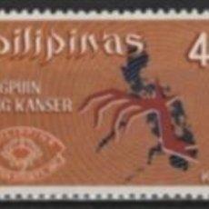 Sellos: FILIPINAS 1970 - CONTRA EL CANCER - YVERT Nº 784/789**. Lote 205048201