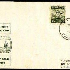 Sellos: FILIPINAS OCUPACION JAPONESA DE 1944. Lote 205399418