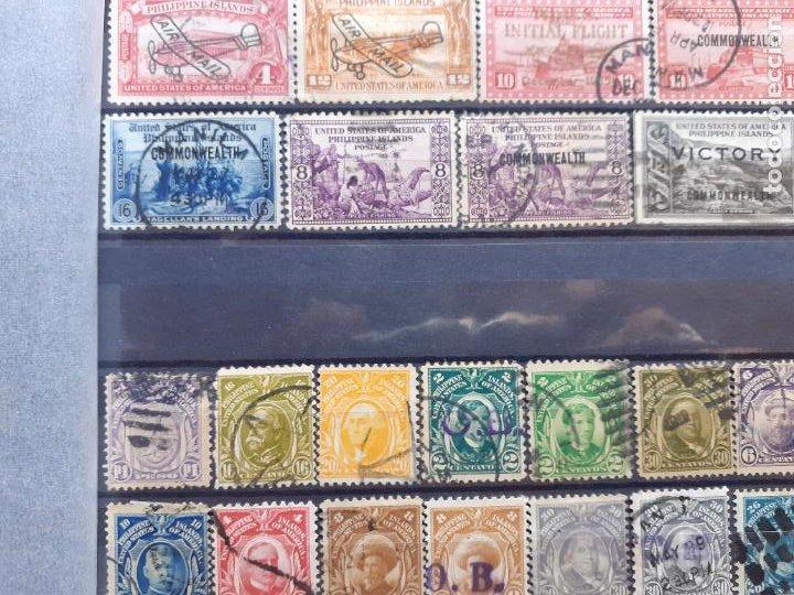 Sellos: Philippine Islands. Filipinas. Administración de Estados Unidos. 63 sellos. Raros algunos. Aéreos - Foto 4 - 205854300