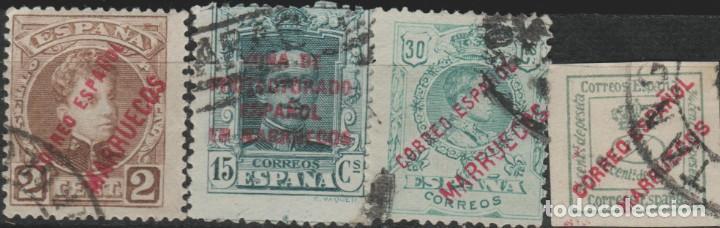 LOTE 20-22 SELLOS MARRUECOS ESPAÑA (Sellos - Extranjero - Asia - Filipinas)