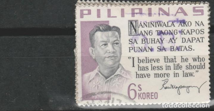 LOTE (3) SELLOS FILIPINAS ESTADOS UNIDOS (Sellos - Extranjero - Asia - Filipinas)