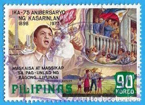 FILIPINAS. 1973. 75 ANIVERSARIO DE LA INDEPENDENCIA (Sellos - Extranjero - Asia - Filipinas)