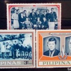 Selos: FILIPINAS FAMILIA KENNEDY SERIE DE SELLOS NUEVOS. Lote 217141742
