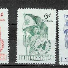 Sellos: FILIPINA Nº 392 AL 394 (**). Lote 218186530