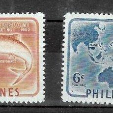 Sellos: FILIPINA Nº 403 AL 404 (**). Lote 218186787